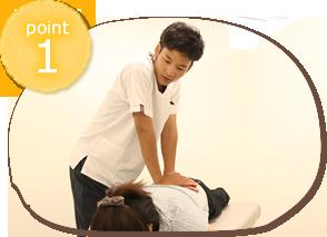 垂水坂口鍼灸整骨院・整体院施術のポイント1