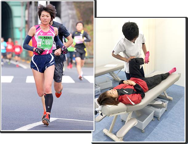 パラリンピック強化選手阿利美咲選手が垂水坂口鍼灸整骨院・整体院のグループ院に来店されました